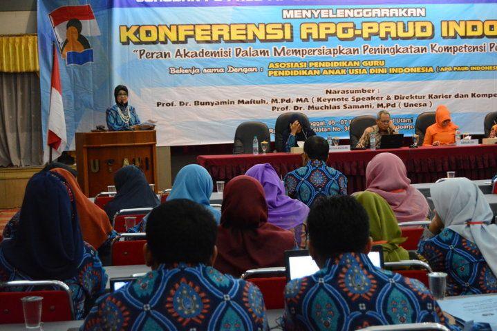 Konferensi Apg Paud Dihadiri 52 Ptn Pts